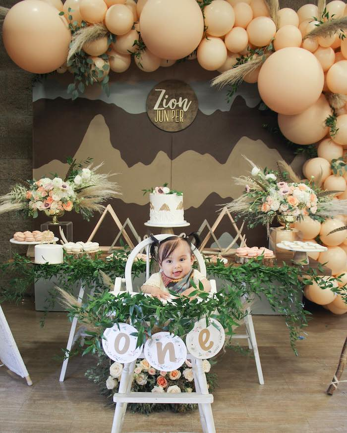 Boho Outdoor Adventure Birthday Party on Kara's Party Ideas | KarasPartyIdeas.com (5)