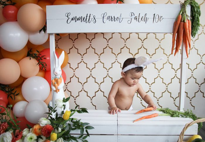 Carrot Patch Easter Party on Kara's Party Ideas | KarasPartyIdeas.com (14)
