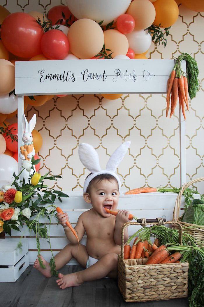 Carrot Patch Easter Party on Kara's Party Ideas | KarasPartyIdeas.com (13)