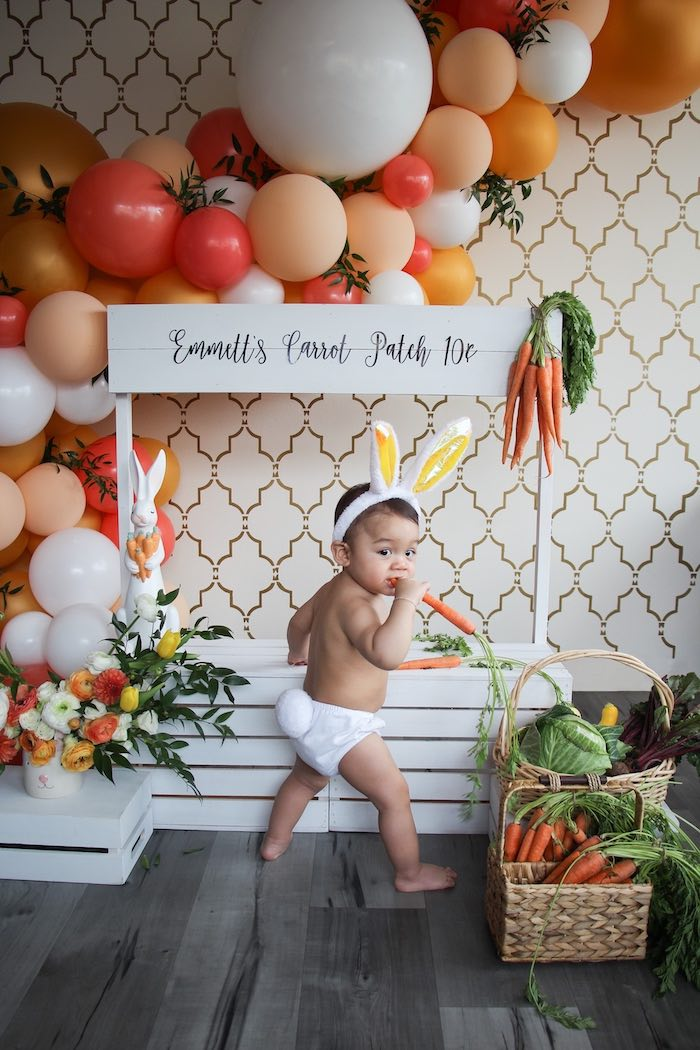 Carrot Patch Easter Party on Kara's Party Ideas | KarasPartyIdeas.com (12)