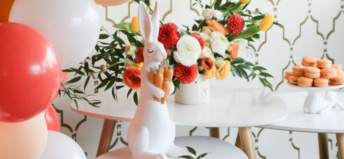 Carrot Patch Easter Party on Kara's Party Ideas | KarasPartyIdeas.com (2)