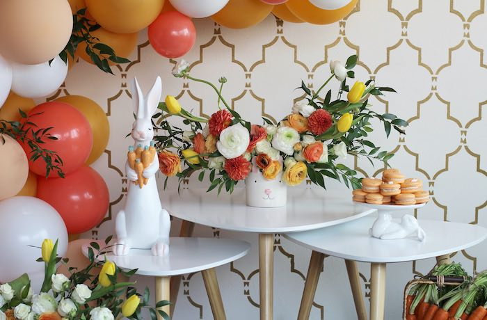 Easter Party Decor from a Carrot Patch Easter Party on Kara's Party Ideas | KarasPartyIdeas.com (33)