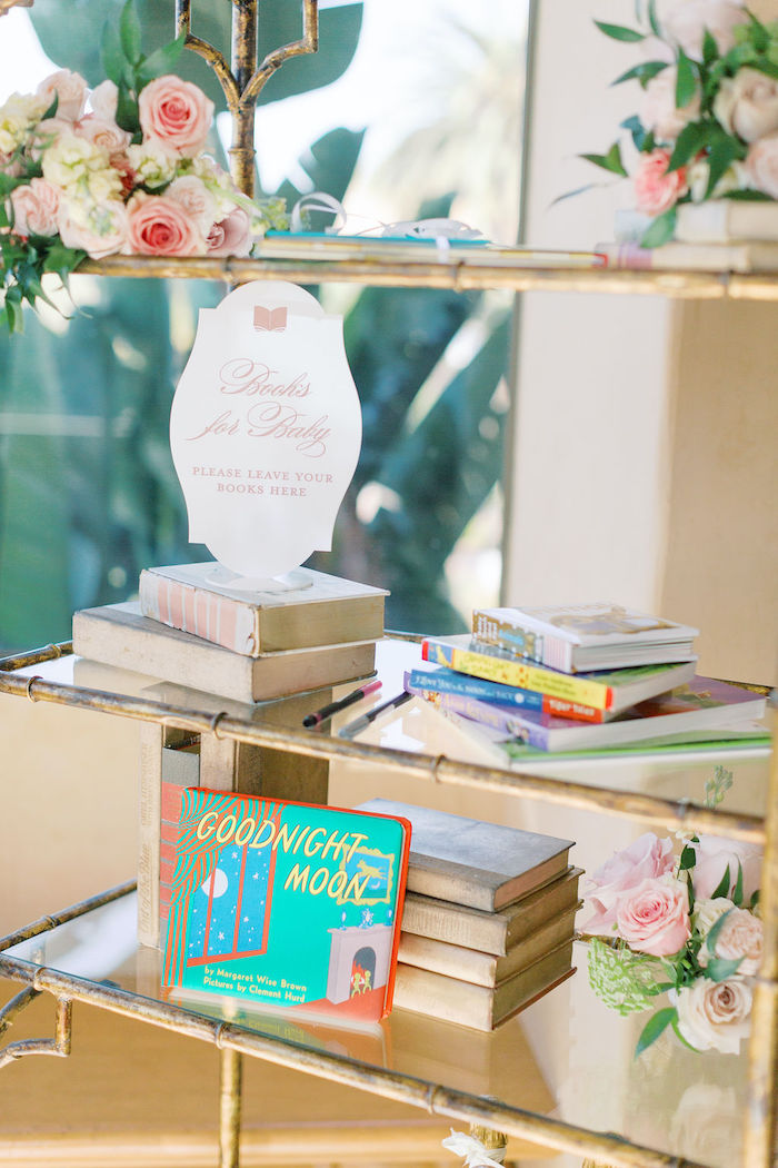 Books for Baby from a Cozy and Luxurious Baby Shower on Kara's Party Ideas | KarasPartyIdeas.com (24)