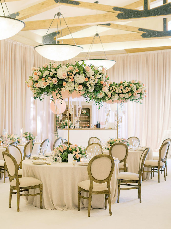 Elegant Guest Tables from a Cozy and Luxurious Baby Shower on Kara's Party Ideas | KarasPartyIdeas.com (21)