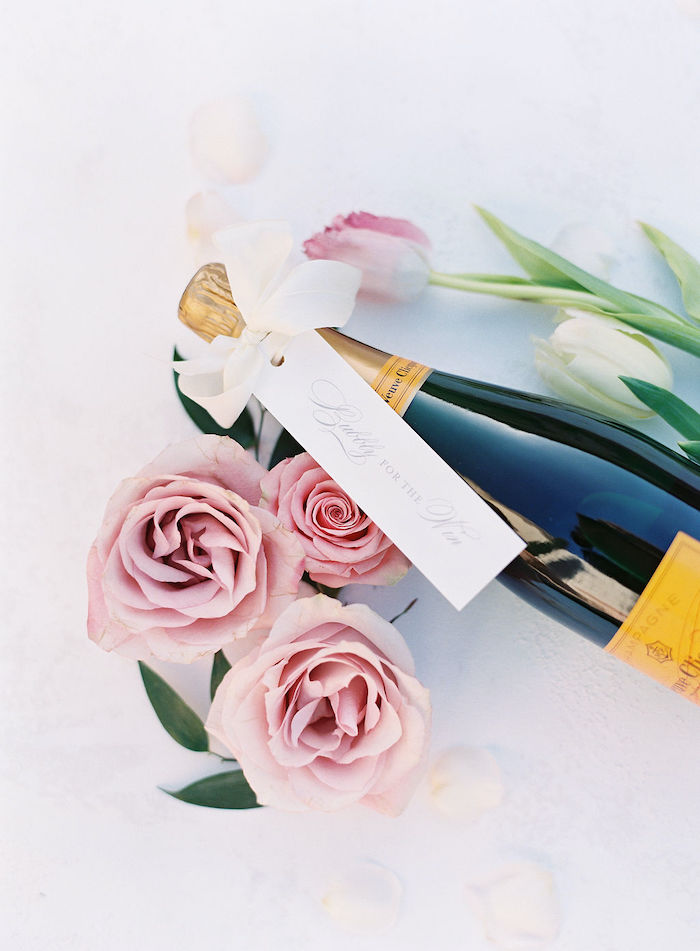 Bubbly for the Win - Champagne Favor Tags from a Cozy and Luxurious Baby Shower on Kara's Party Ideas | KarasPartyIdeas.com (34)