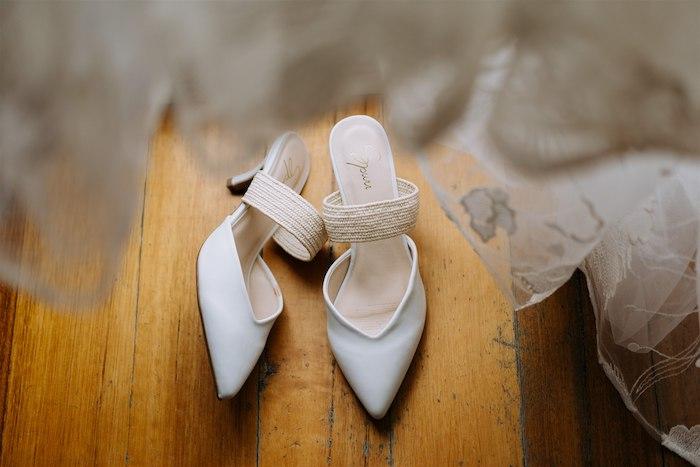 Bridal Shoes from a Elegant Vineyard Wedding on Kara's Party Ideas | KarasPartyIdeas.com (40)