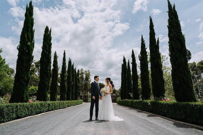 Elegant Vineyard Wedding on Kara's Party Ideas | KarasPartyIdeas.com (28)