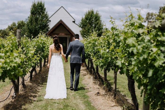 Elegant Vineyard Wedding on Kara's Party Ideas | KarasPartyIdeas.com (27)