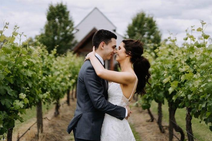 Elegant Vineyard Wedding on Kara's Party Ideas | KarasPartyIdeas.com (26)