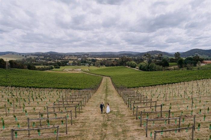 Elegant Vineyard Wedding on Kara's Party Ideas | KarasPartyIdeas.com (25)