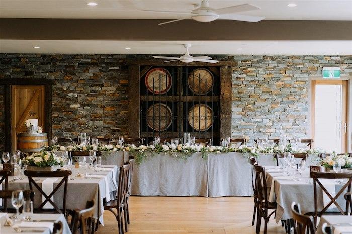 Head Dining Table + Guest Tables from an Elegant Vineyard Wedding on Kara's Party Ideas | KarasPartyIdeas.com (21)