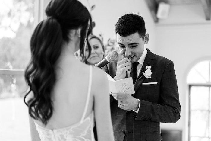 Elegant Vineyard Wedding on Kara's Party Ideas | KarasPartyIdeas.com (10)