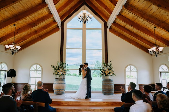 Elegant Vineyard Wedding on Kara's Party Ideas | KarasPartyIdeas.com (9)