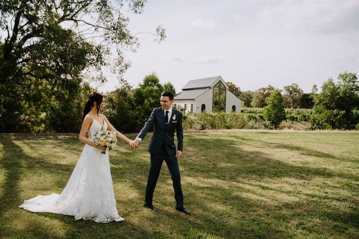 Elegant Vineyard Wedding on Kara's Party Ideas | KarasPartyIdeas.com (8)