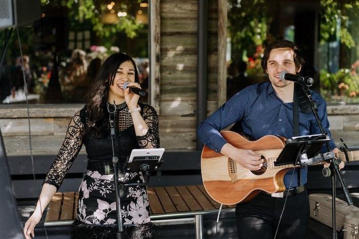 Live Music at an Elegant Vineyard Wedding on Kara's Party Ideas | KarasPartyIdeas.com (6)