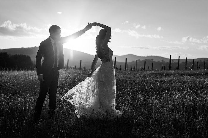 Elegant Vineyard Wedding on Kara's Party Ideas | KarasPartyIdeas.com (3)