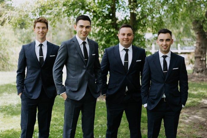 Groomsmen from an Elegant Vineyard Wedding on Kara's Party Ideas | KarasPartyIdeas.com (44)