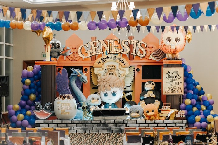 Fantastic Beasts Birthday Party on Kara's Party Ideas | KarasPartyIdeas.com (29)