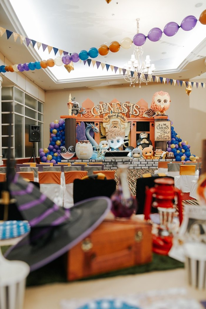 Fantastic Beasts Birthday Party on Kara's Party Ideas | KarasPartyIdeas.com (28)