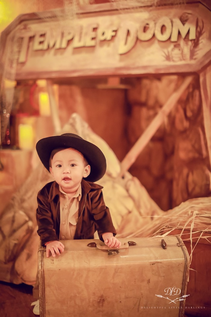 Indiana Jones Birthday Party on Kara's Party Ideas | KarasPartyIdeas.com (13)
