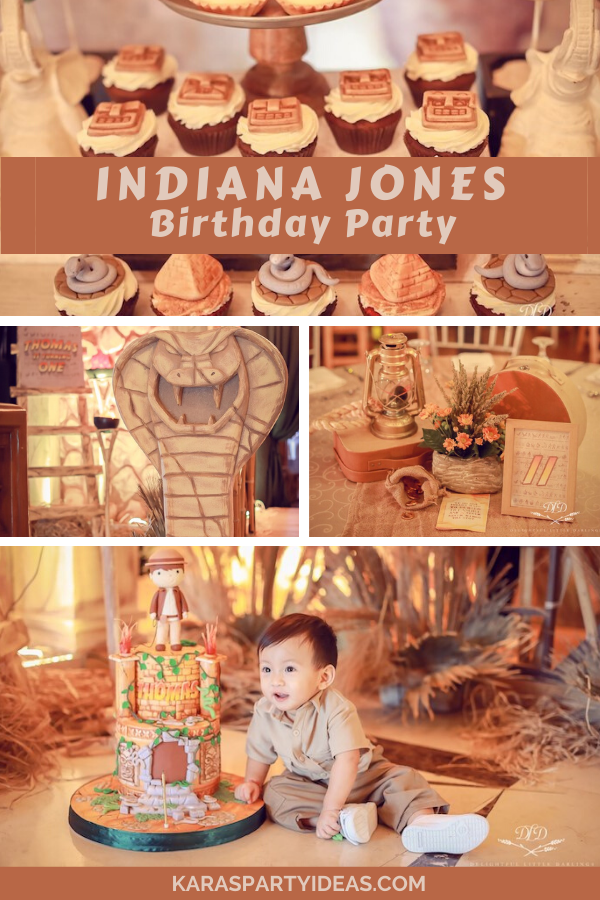 Indiana Jones Birthday Party via Karas PartyIdeas - KarasPartyIdeas.com