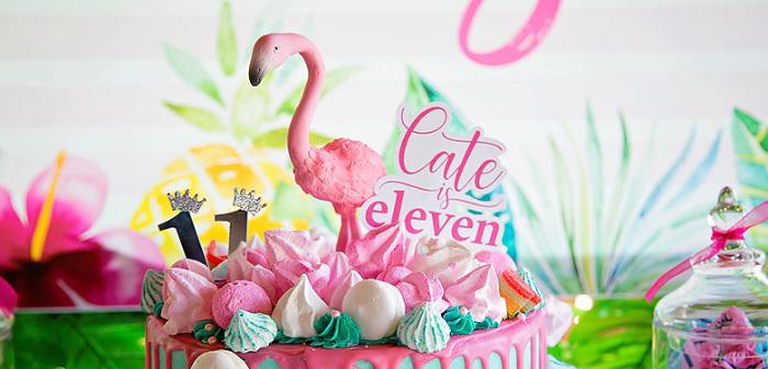 Let's Flamingle Birthday Party on Kara's Party Ideas | KarasPartyIdeas.com (3)