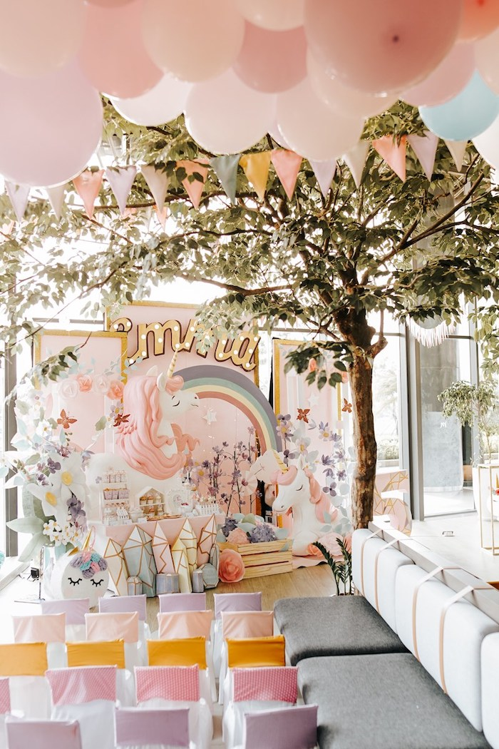 Magical Unicorn Birthday Party on Kara's Party Ideas | KarasPartyIdeas.com (5)
