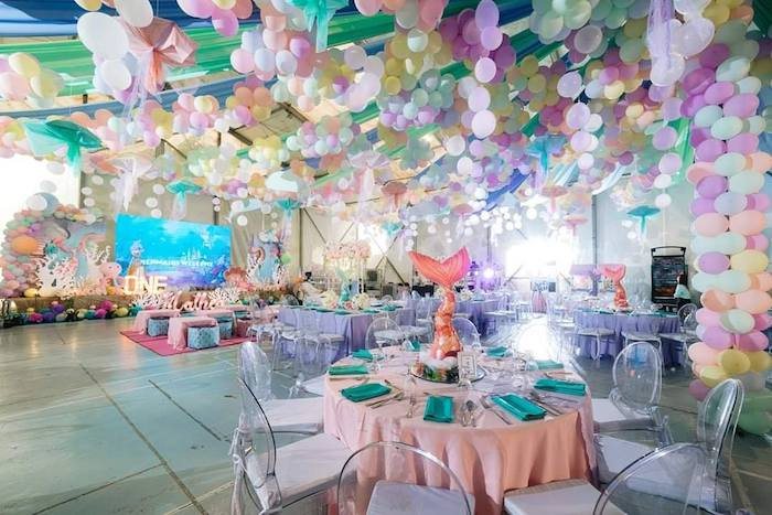 Majestic Mermaid Under the Sea Party on Kara's Party Ideas | KarasPartyIdeas.com (10)