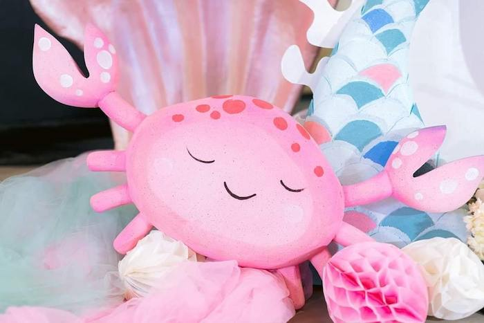 Octopus from a Majestic Mermaid Under the Sea Party on Kara's Party Ideas | KarasPartyIdeas.com (7)