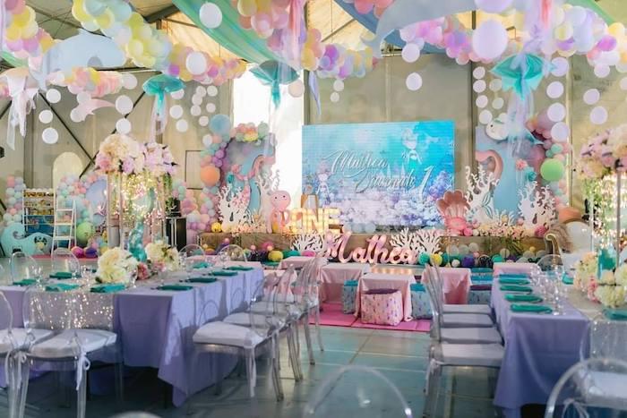 Majestic Mermaid Under the Sea Party on Kara's Party Ideas | KarasPartyIdeas.com (27)