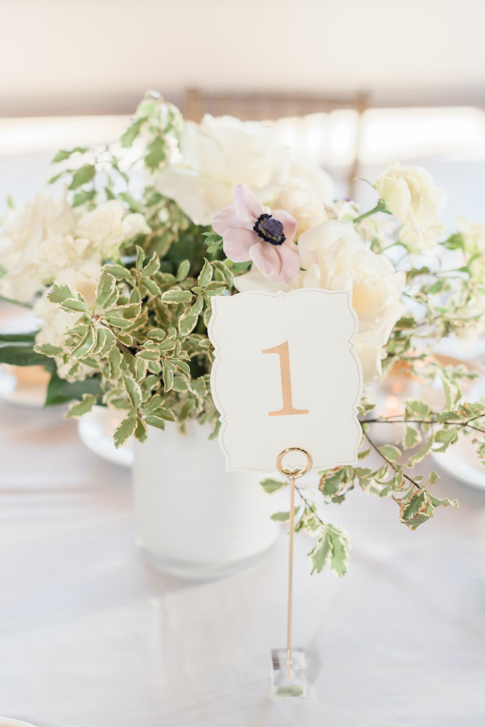 Table Number from a Moon and Stars Baby Shower on Kara's Party Ideas | KarasPartyIdeas.com (17)