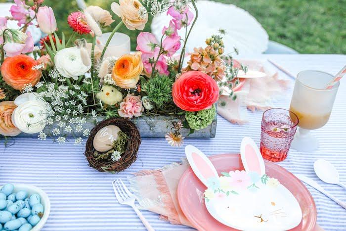 Outdoor Easter Picnic on Kara's Party Ideas | KarasPartyIdeas.com (21)