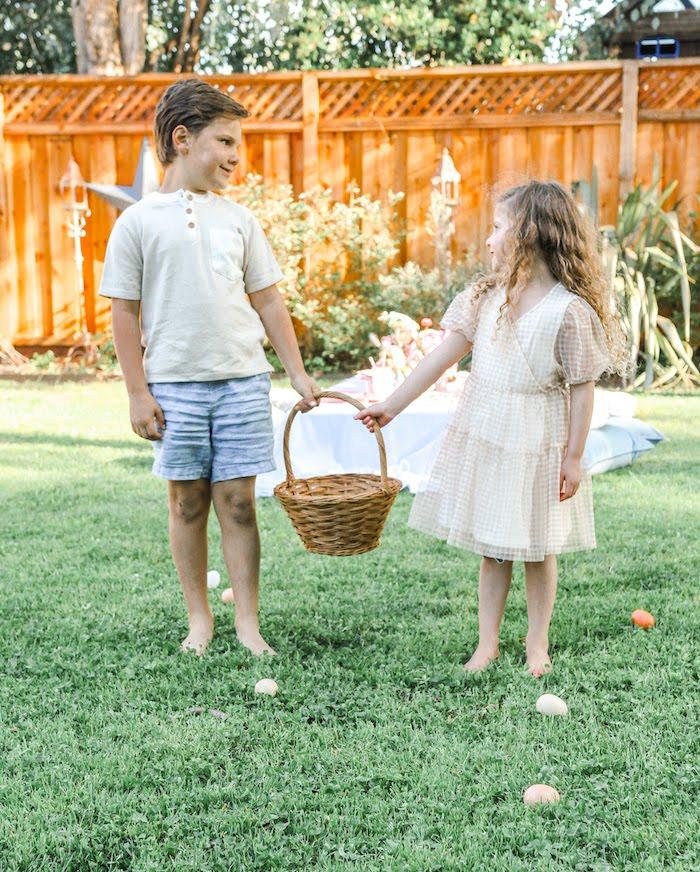 Outdoor Easter Picnic on Kara's Party Ideas | KarasPartyIdeas.com (9)