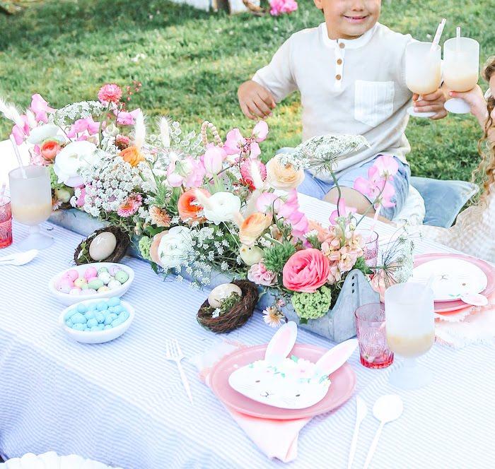 Outdoor Easter Picnic on Kara's Party Ideas | KarasPartyIdeas.com (38)