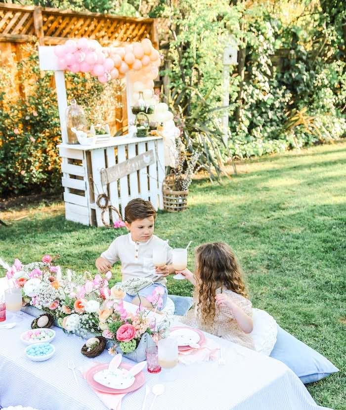 Outdoor Easter Picnic on Kara's Party Ideas | KarasPartyIdeas.com (37)