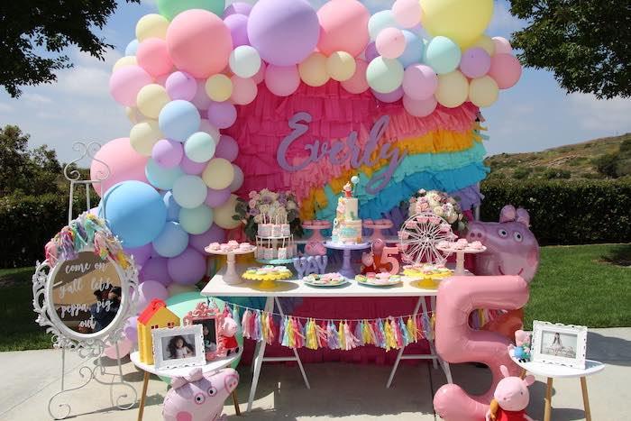 Peppa Pig Birthday Party on Kara's Party Ideas | KarasPartyIdeas.com (11)