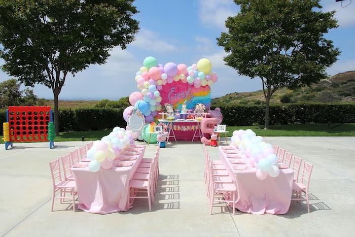Peppa Pig Birthday Party on Kara's Party Ideas | KarasPartyIdeas.com (7)
