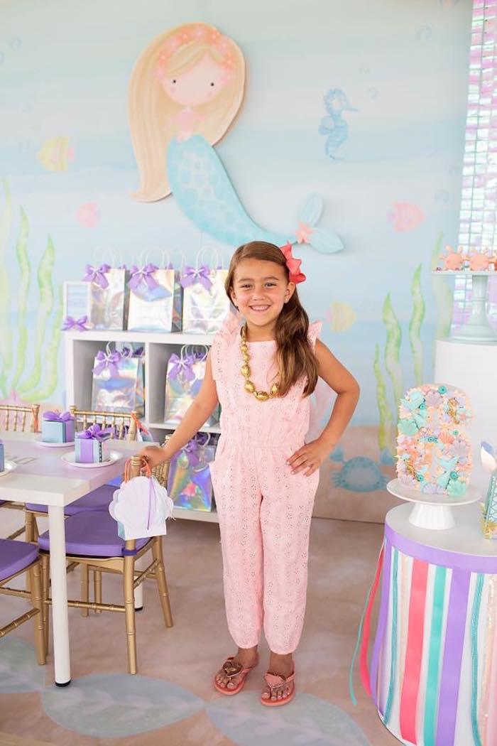 Salty Air + Mermaid Vibes Birthday Party on Kara's Party Ideas | KarasPartyIdeas.com (18)