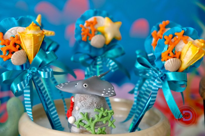 Under the Sea Favors from a Shark Under the Sea Birthday Party on Kara's Party Ideas | KarasPartyIdeas.com (28)