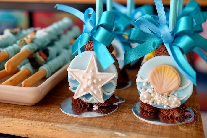 Under the Sea Pops from a Shark Under the Sea Birthday Party on Kara's Party Ideas | KarasPartyIdeas.com (15)