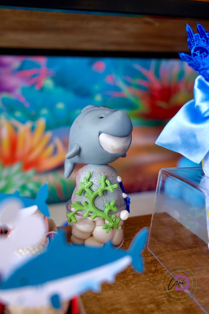 Shark Candy Favor Tube Topper from aShark Under the Sea Birthday Party on Kara's Party Ideas | KarasPartyIdeas.com (37)