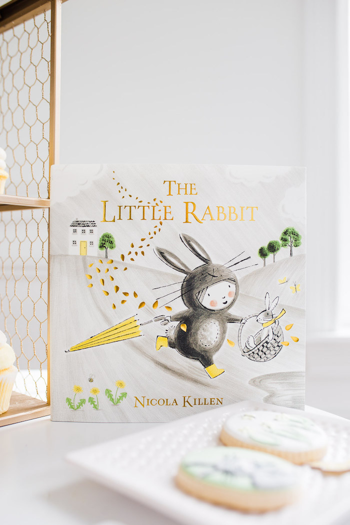 The Little Rabbit Book from The Little Rabbit Inspired Spring Play Date Party on Kara's Party Ideas | KarasPartyIdeas.com (42)