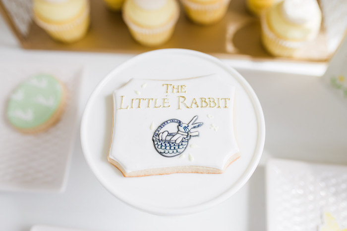 The Little Rabbit Cookie from The Little Rabbit Inspired Spring Play Date Party on Kara's Party Ideas | KarasPartyIdeas.com (55)