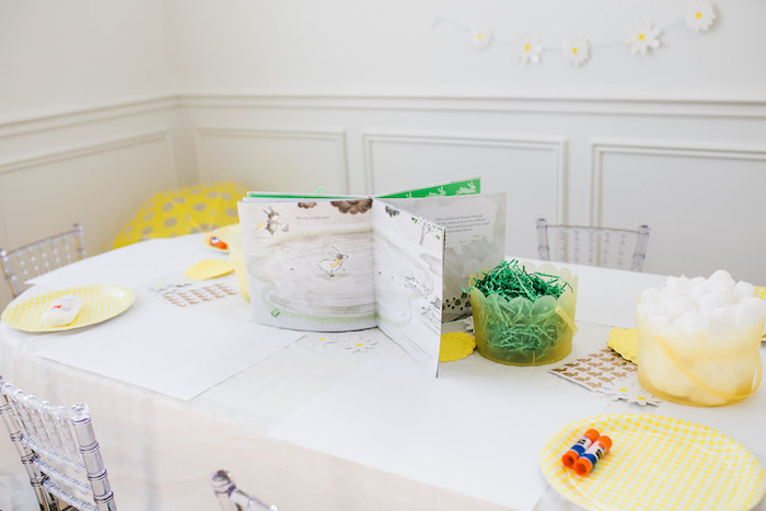 Spring Activity Table from The Little Rabbit Inspired Spring Play Date Party on Kara's Party Ideas | KarasPartyIdeas.com (18)