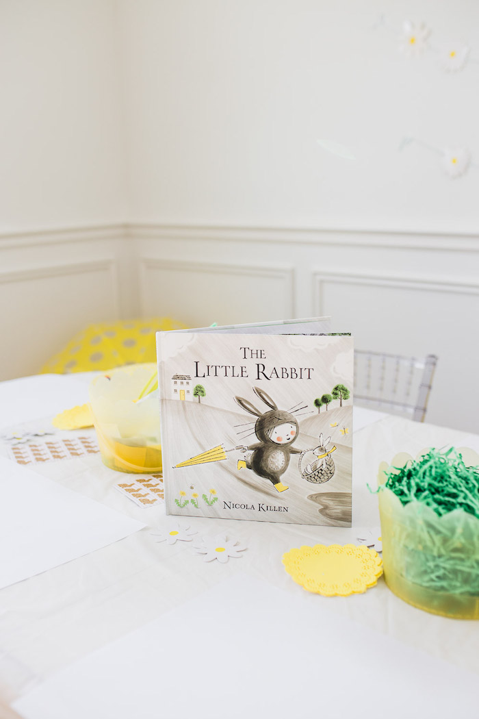 Spring Activity Table from The Little Rabbit Inspired Spring Play Date Party on Kara's Party Ideas | KarasPartyIdeas.com (17)