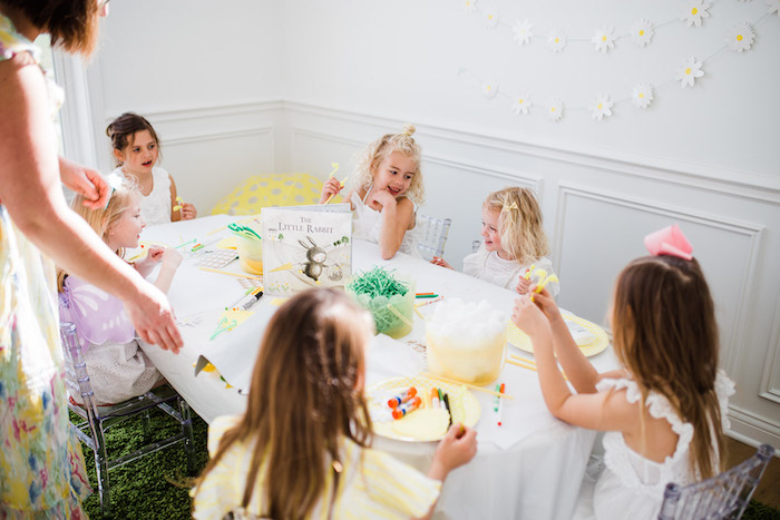 The Little Rabbit Inspired Spring Play Date Party on Kara's Party Ideas | KarasPartyIdeas.com (5)