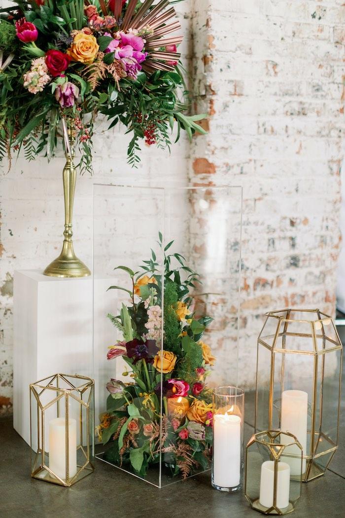Tropical Floral Urban Wedding on Kara's Party Ideas | KarasPartyIdeas.com (37)