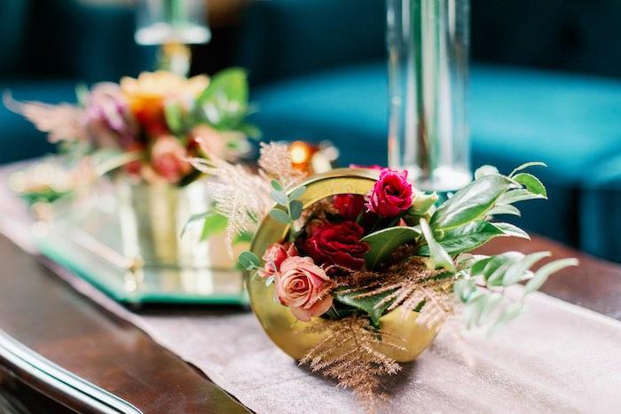 Tropical Floral Urban Wedding on Kara's Party Ideas | KarasPartyIdeas.com (26)