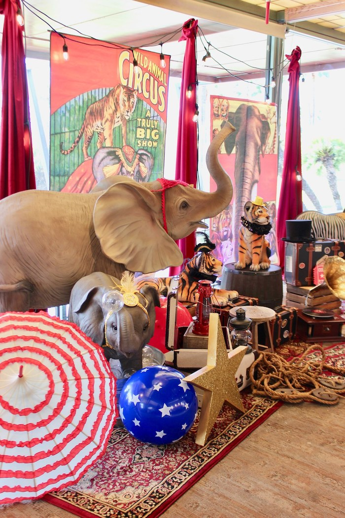 Vintage Circus Baby Shower on Kara's Party Ideas | KarasPartyIdeas.com (8)