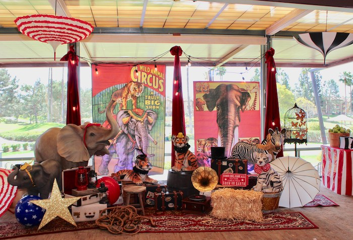 Vintage Circus Baby Shower on Kara's Party Ideas | KarasPartyIdeas.com (4)